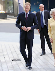 Prince William usually opts for classic style, especially when dressing for formal occasions.