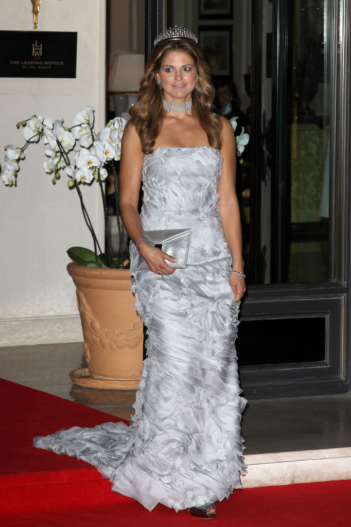 Princess Madeleine Evening Dress Princess Madeleine