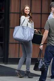 Princess Madeleine shopped along Soho and brought along an oversized tote.