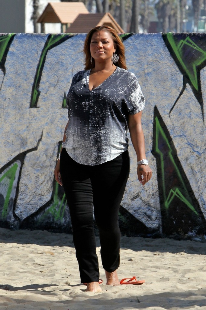 Queen Latifah Skinny Pants Queen Latifah Looks Stylebistro