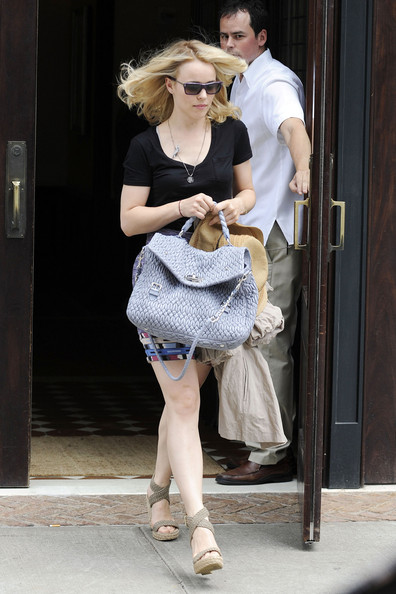 More Pics of Rachel McAdams Wedges  (5 of 8) - Rachel McAdams Lookbook - StyleBistro