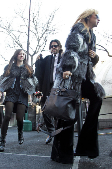 Rachel Zoe and Rodger Berman at Fashion Week in NYC 2