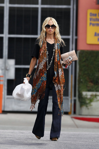 Rachel Zoe Patterned Scarf