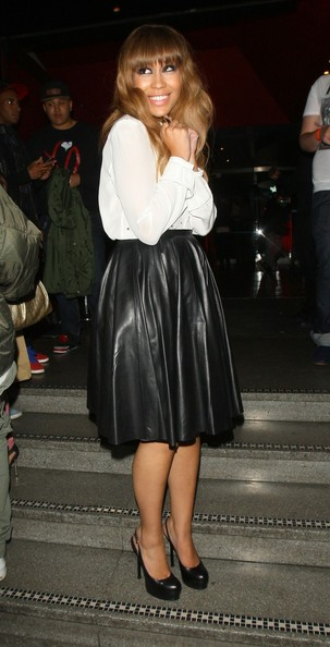 Rebecca Ferguson Knee Length Skirt