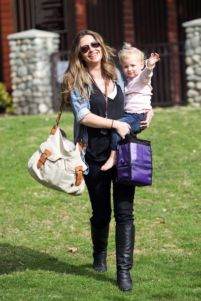 More Pics of Rebecca Gayheart canvas messenger bag (1 of 10) - canvas messenger bag Lookbook - StyleBistro