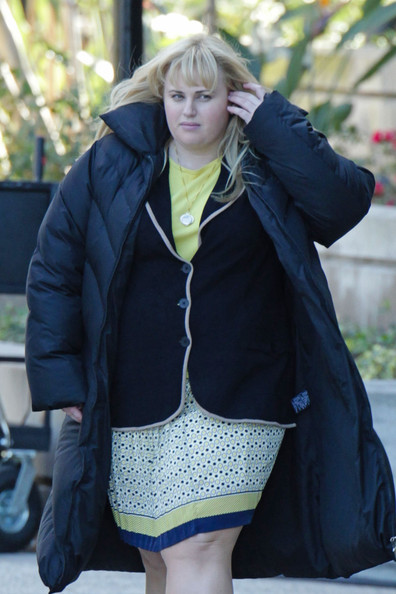 Rebel Wilson on Set 2