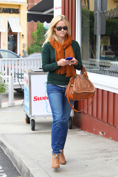 More Pics of Reese Witherspoon Ankle Boots (6 of 11) - Reese Witherspoon Lookbook - StyleBistro