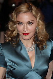 Madonna wore a saturated red lip to the 2011 Met Gala.