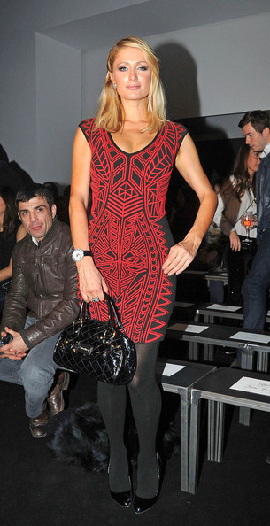 More Pics of Paris Hilton Cocktail Dress (1 of 7) - Cocktail Dress Lookbook - StyleBistro