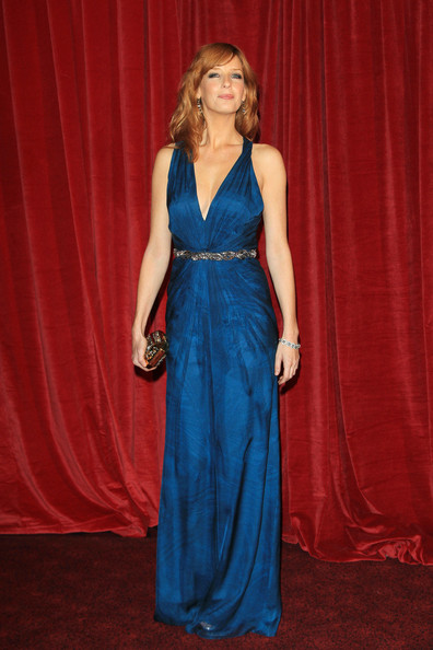 More Pics of Kelly Reilly Evening Dress (1 of 7) - Kelly Reilly Lookbook - StyleBistro