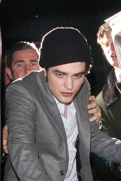 Robert Pattinson Wool Cap
