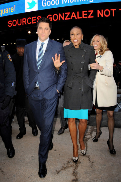 More Pics of Robin Roberts Trenchcoat (1 of 28) - Trenchcoat Lookbook - StyleBistro