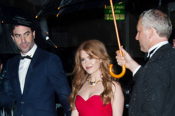 Sacha Baron Cohen Isla Fisher Celebs Leave After the 'Gatsby' Screening in Cannes