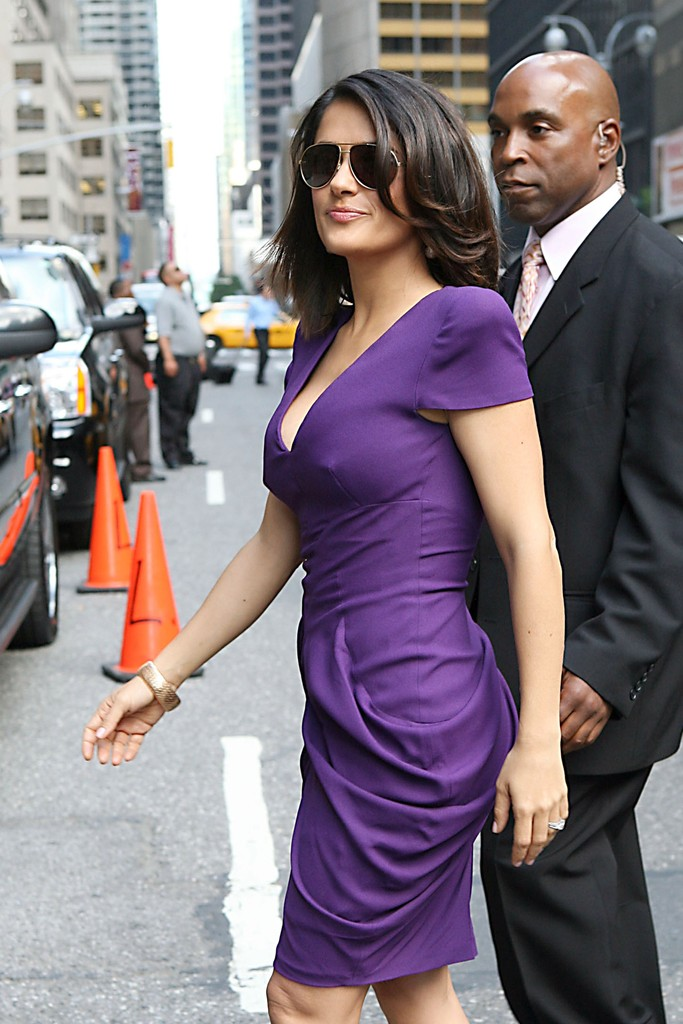 Salma hayek letterman show - 2 part 6