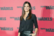 Sandra Bullock attends 'Taffe Bullock' photocall in Berlin.