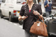 Sara Cox Leather Shoulder Bag
