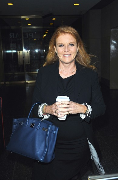 More Pics of Sarah Ferguson Patent Leather Tote (4 of 5) - Sarah Ferguson Lookbook - StyleBistro