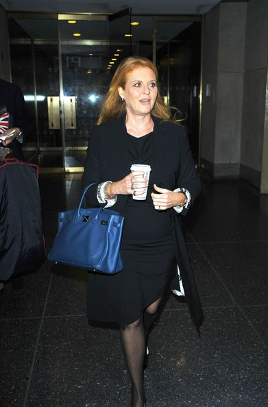 More Pics of Sarah Ferguson Patent Leather Tote (2 of 5) - Sarah Ferguson Lookbook - StyleBistro
