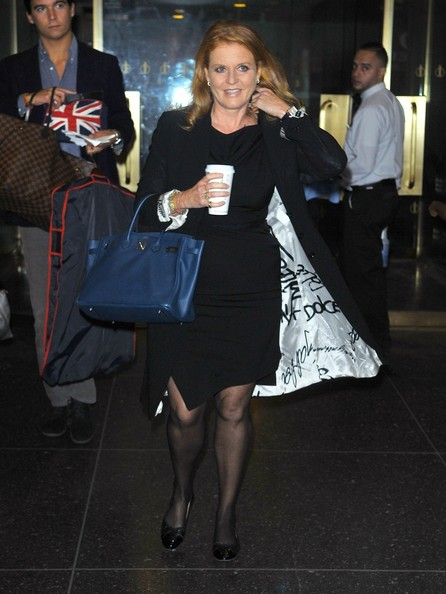 More Pics of Sarah Ferguson Patent Leather Tote (5 of 5) - Sarah Ferguson Lookbook - StyleBistro
