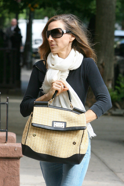 Sarah Jessica Parker Leather Shoulder Bag