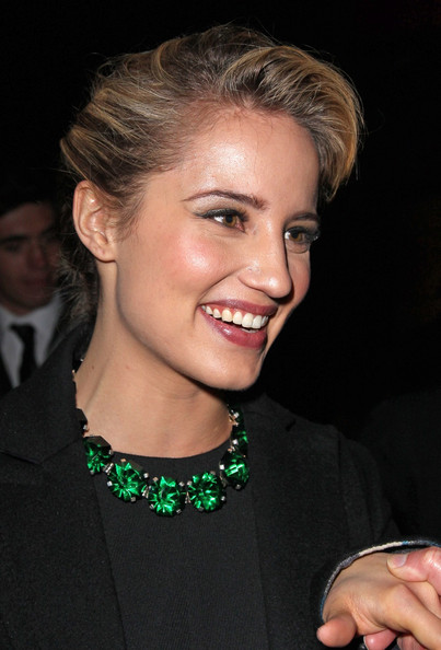 More Pics of Dianna Agron Bobby Pinned updo (1 of 8) - Dianna Agron Lookbook - StyleBistro