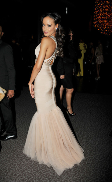 Selita Ebanks Bandage Dress