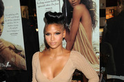 Cassie Sizzled in Metallic Eyeshadow at Carol's Daughter Launch