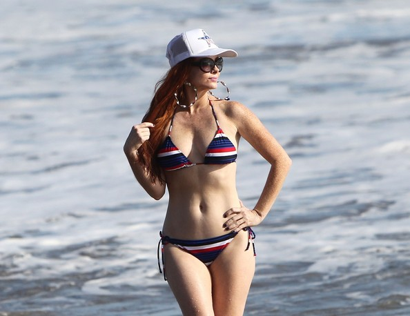 More Pics of Phoebe Price String Bikini (1 of 19) - String Bikini Lookbook - StyleBistro