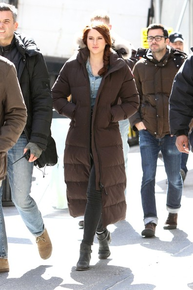 Shailene Woodley Down Jacket