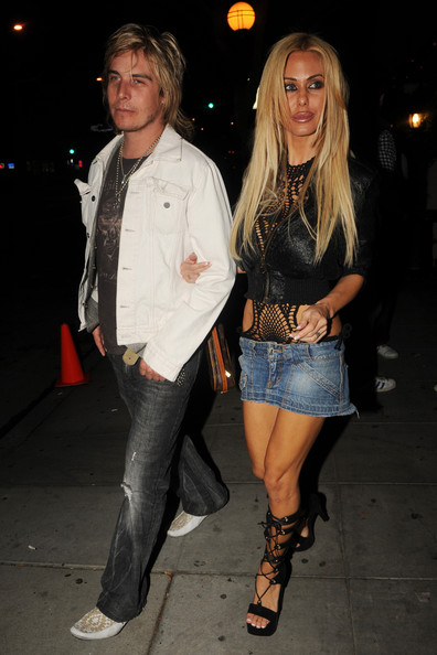 Shauna Sand Denim Skirt []