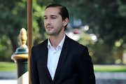 Shia LaBeouf looked oh-so-neat with this slicked-back hairstyle at the Venice Film Festival.