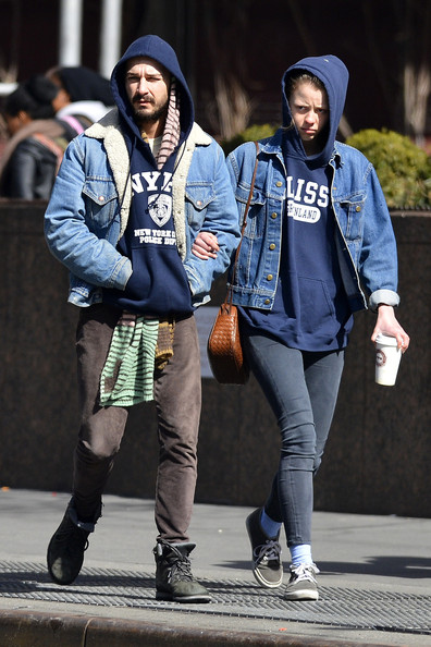 More Pics of Shia LaBeouf Denim Jacket (4 of 15) - Shia LaBeouf Lookbook - StyleBistro