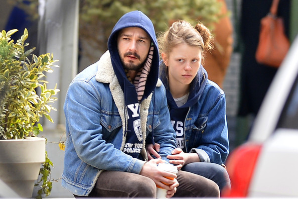 More Pics of Shia LaBeouf Denim Jacket (1 of 15) - Shia LaBeouf Lookbook - StyleBistro