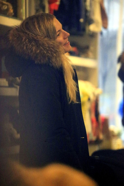 Sienna Miller Shops in NYC