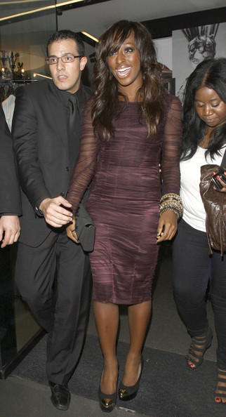 More Pics of Alexandra Burke Long Wavy Cut (1 of 5) - Alexandra Burke Lookbook - StyleBistro
