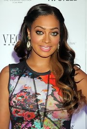 La La Anthony sported a lovely half-up half-down 'do with curly ends when she attended Vegas Magazine's anniversary party.