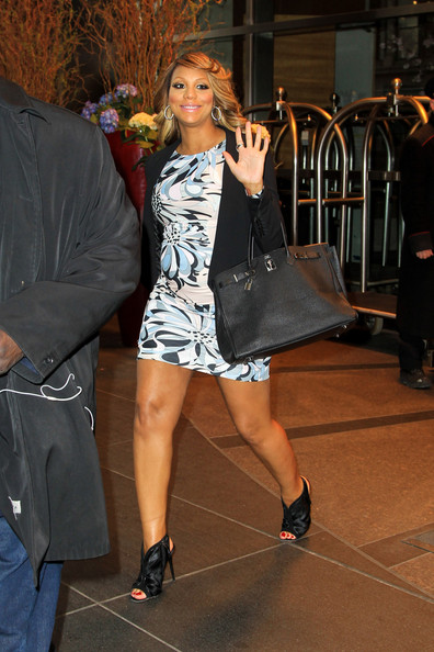 More Pics of Tamar Braxton Maternity Dress (1 of 5) - Tamar Braxton Lookbook - StyleBistro