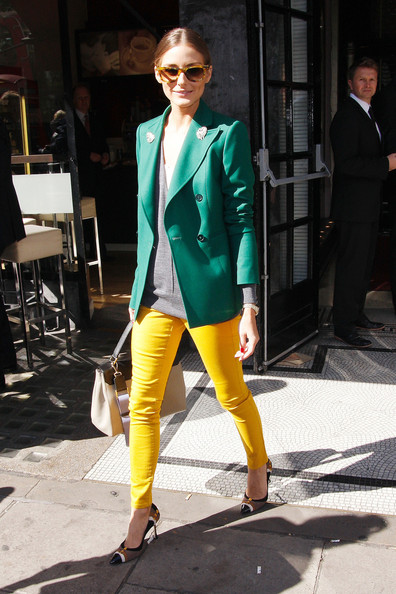 More Pics of Olivia Palermo Wayfarer Sunglasses (8 of 8) - Olivia Palermo Lookbook - StyleBistro