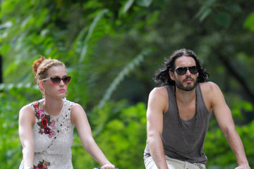 Katy Perry Russell Brand Russell Brand and Katy Perry in the West Village