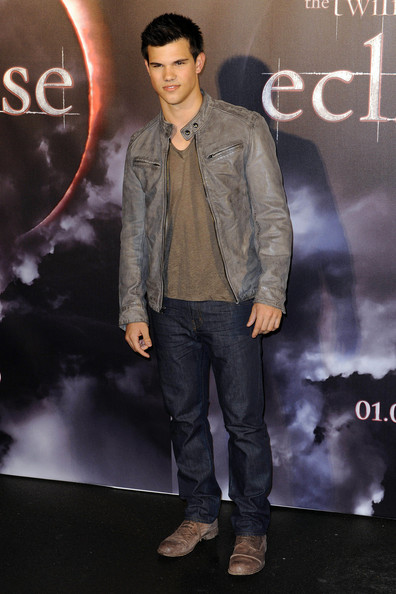Taylor Lautner Lace Up Boots