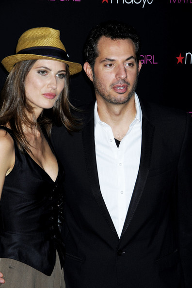Michelle topped off her stylish look in a straw fedora for the Material Girl launch in NY.