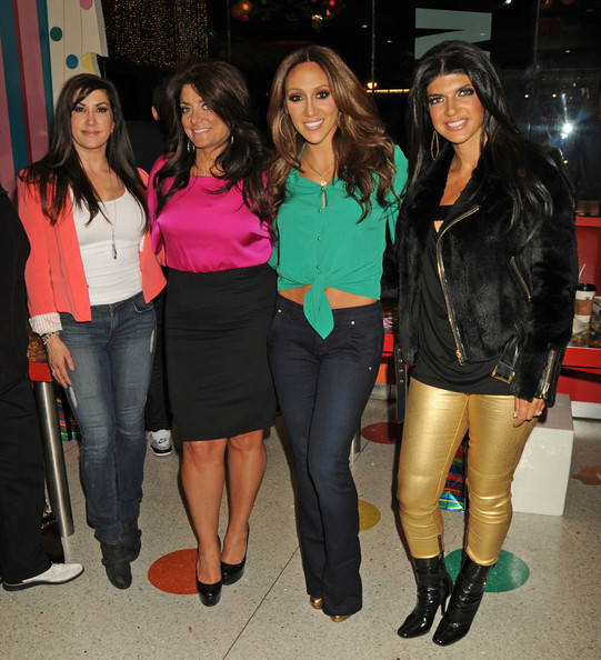 More Pics of Teresa Giudice Motorcycle Jacket (1 of 6) - Teresa Giudice Lookbook - StyleBistro