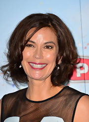 Teri Hatcher showed off bouncy waves at the London screening of 'Planes.'