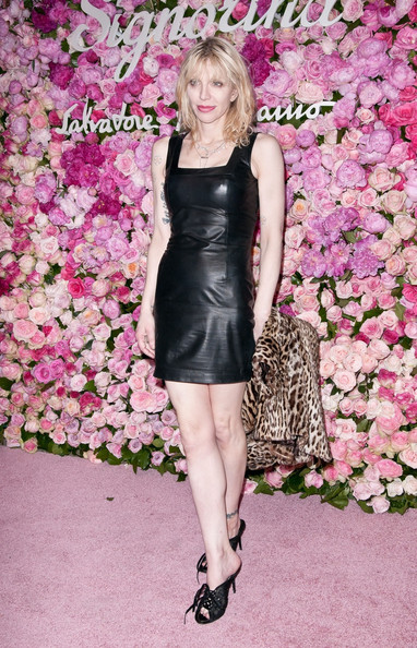 More Pics of Courtney Love Leather Dress (2 of 3) - Courtney Love Lookbook - StyleBistro