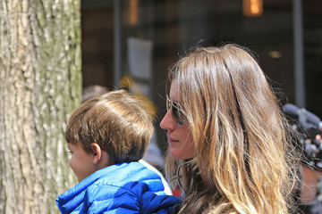 Tom Brady Benjamin Brady Gisele Bundchen and Tom Brady in NYC