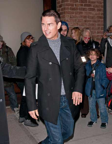 Tom Cruise Pea Coat