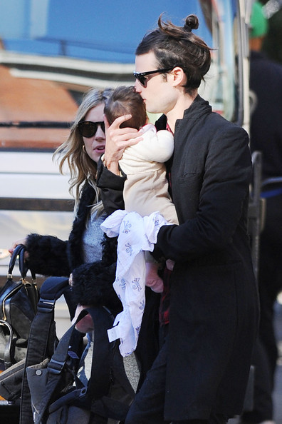 Sienna Miller and Family in the West Village