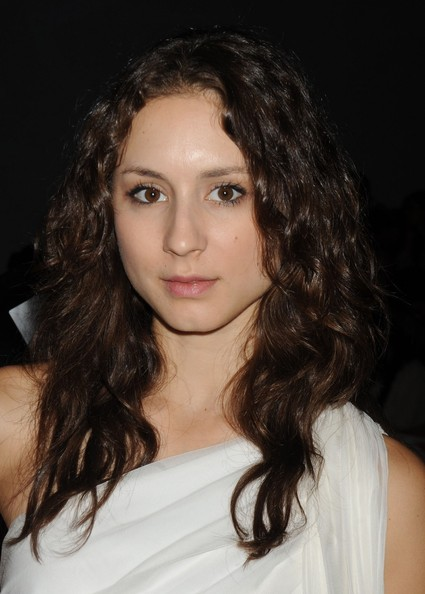 Troian Bellisario Medium Curls