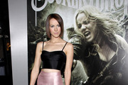Jena Malone joins a celebrity line up on the red carpet at the Los Angeles premiere of
