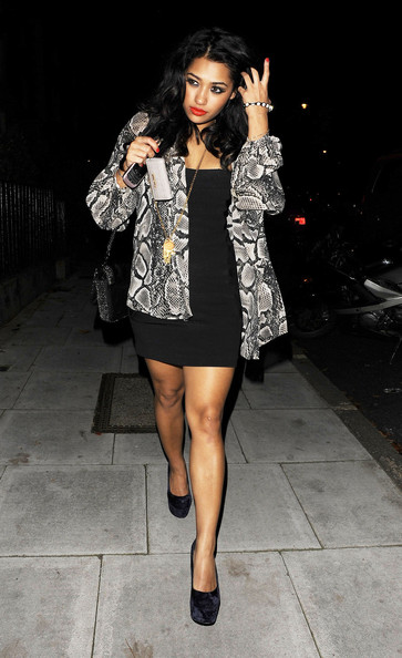 Vanessa White Platform Pumps